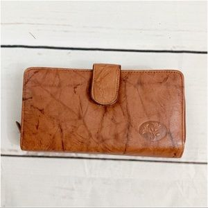 Buxton Leather Wallet/Checkbook NWT